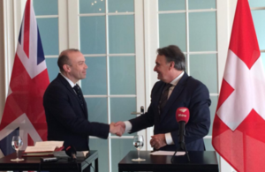 UK and Switzerland sign citizens' rights agreement.