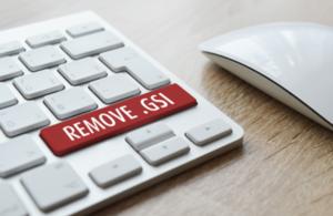 Remove .gsi