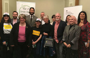 Environment Minister Thérèse Coffey meeting Year of Green Action ambassadors