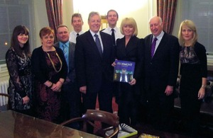 Baroness Newlove at a reception for the 'Street by Street' project