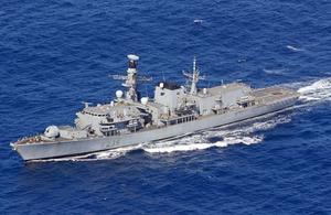 HMS Montrose to visit Japan