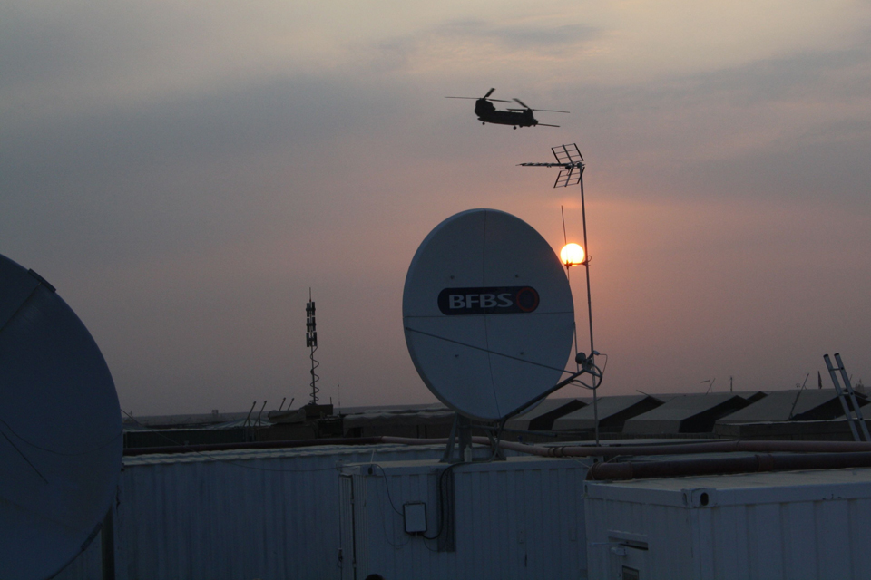 A BFBS satellite dish (stock image)