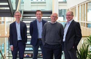 The Institute of Cancer Research Team: Nigel Brooks, Will West, Johann de Bono, Neil Pegg