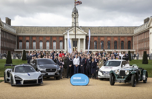 Mission Automotive unveiled at the Royal Hospital Chelsea.