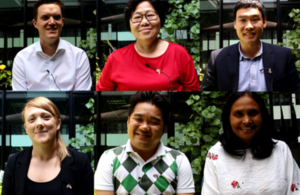 British High Commision Staff, Singapore wishes everyone a Happy International Women's Day!