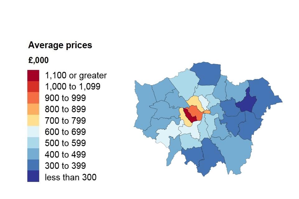 Uk House Price Index England January 2019 Govuk