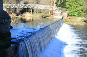 Work starts on fish pass at iconic Grade II Crumpwood weir