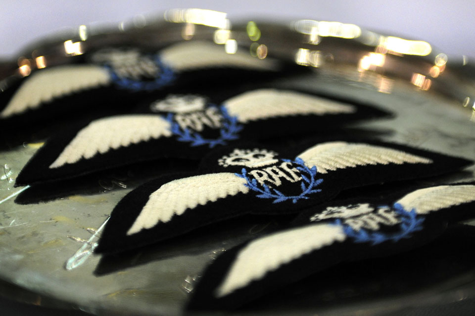 Remotely-piloted air system (RPAS) pilot badges