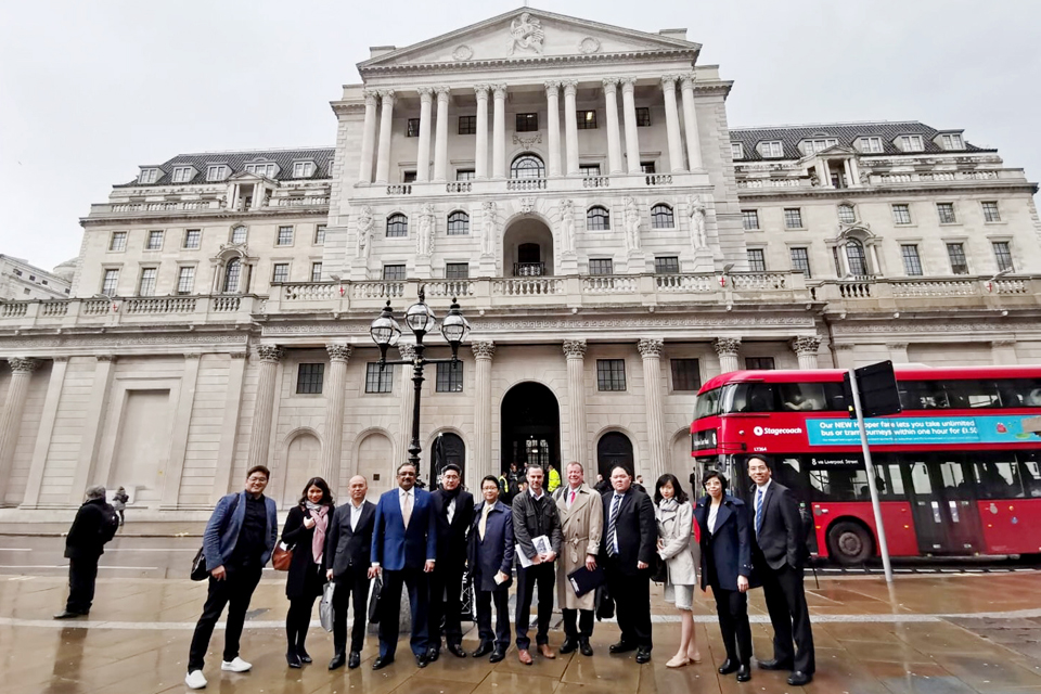 London played host to leading members of Thailand's Fintech community
