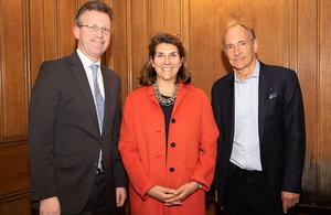 Jeremy Wright, Rosemary Berners-Lee, Tim Berners-Lee