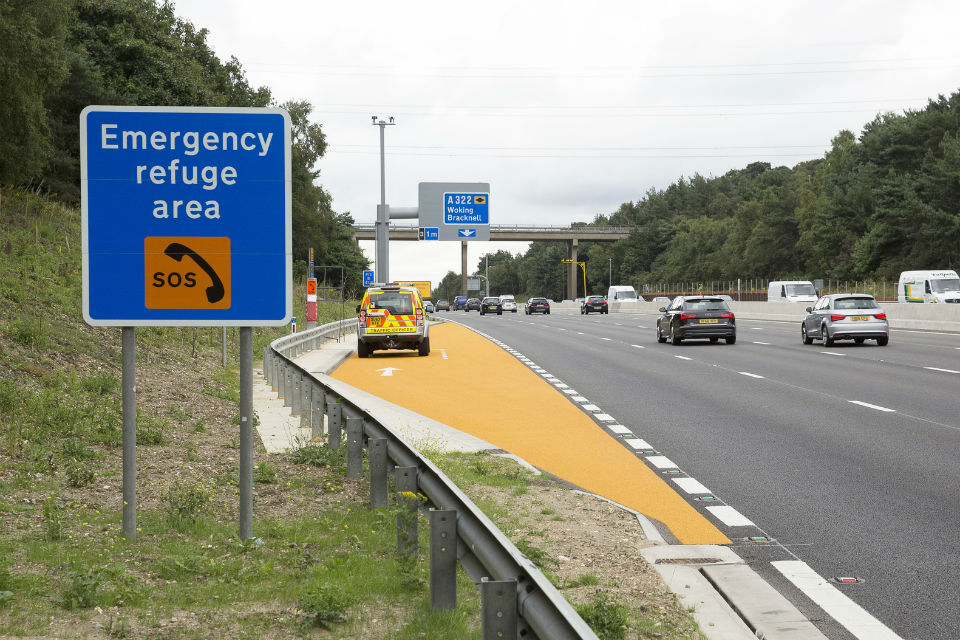 Smart Motorway Emergency Area