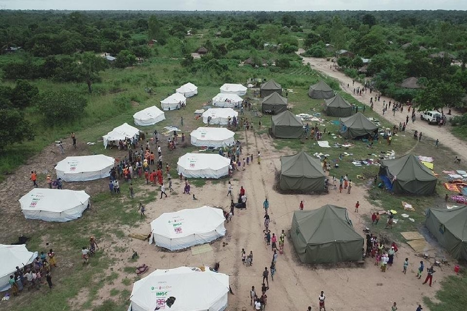UK to provide up to £6 million of UK aid to support victims