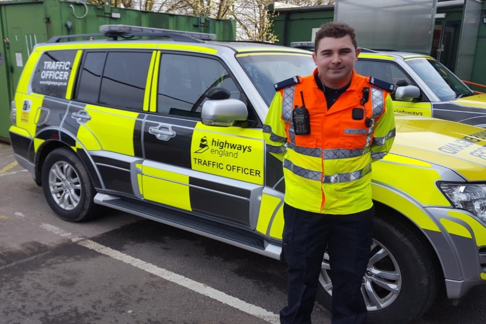 Ben Cookson - Highways England Traffic Officer