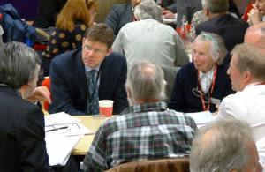 Greg Clark at Neighbourhood Planning event