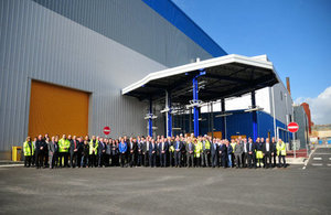 The construction project was a collaboration between Sellafield Ltd, Balfour Beatty and Cavendish Nuclear,