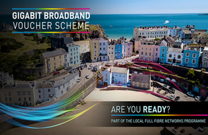 Broadband in Tenby, Wales