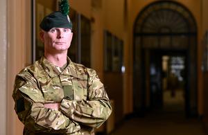 Lance Corporal Christopher Morton, 2nd Battalion The Royal Irish Regiment [Picture: Corporal Steve Blake RLC, Crown copyright]