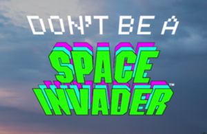 Space Invaders campaign logo