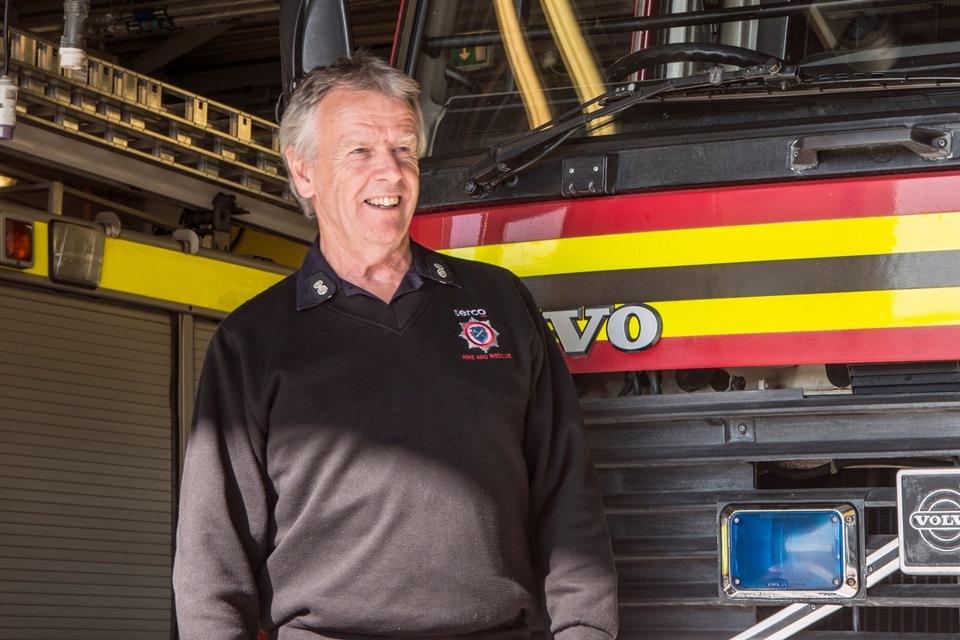 Fireman Leaves Dstl After 40 Years - GOV UK