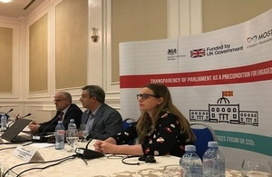 British Embassy supports assistance to Parliament of North Macedonia to increase transparency and inclusion in its work.