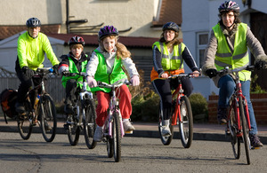 Children on cycles