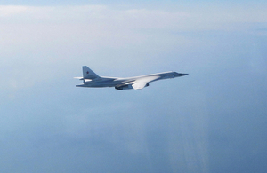 Today (29 March), RAF Quick Reaction Alert (QRA) Typhoon fighter aircraft scrambled from RAF Lossiemouth, with an RAF Voyager from Brize Norton, to monitor two Russian Blackjacks approaching UK airspace.
