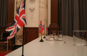 UK, Norway, Iceland and Liechtenstein flags