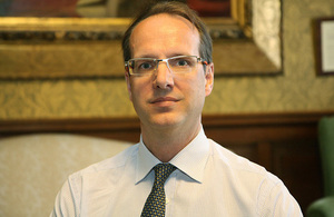 Mr Martin Reynolds CMG has been appointed Her Majesty's Ambassador to Libya
