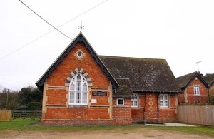 A picture of the Worminghall Village Hall exterior.
