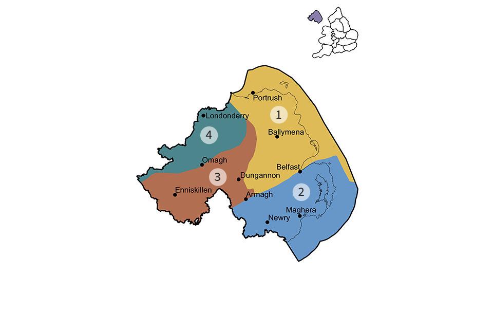 Northern Ireland region