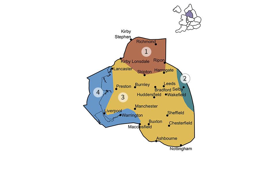 Pennines region