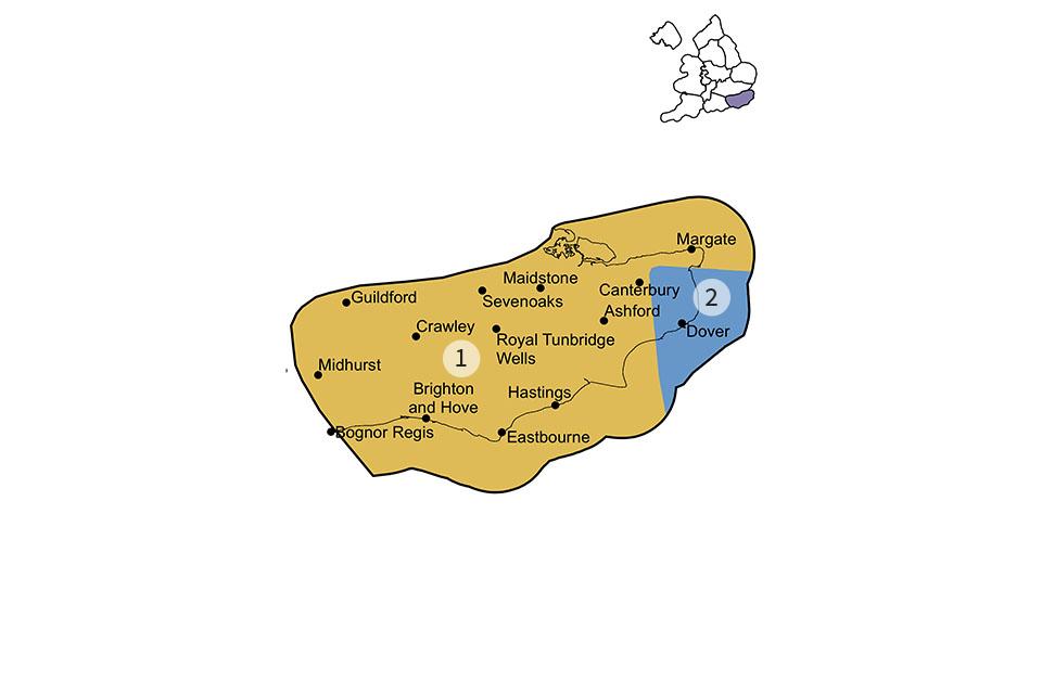 Wealden District region