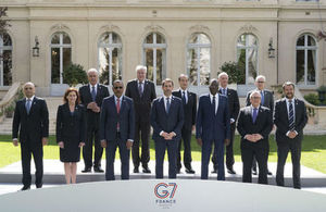 Home Secretary attends G7 and calls for coordination and unity to tackle security threats article