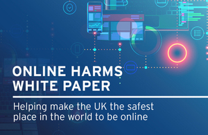 Online Harms White Paper image