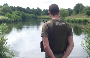 Fisheries Enforcement Officers regularly patrol rivers and lakes across the region