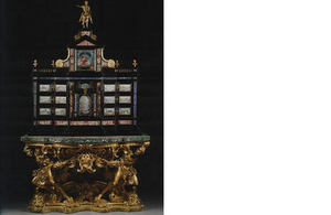 17th century Baroque cabinet by Giacomo Herman