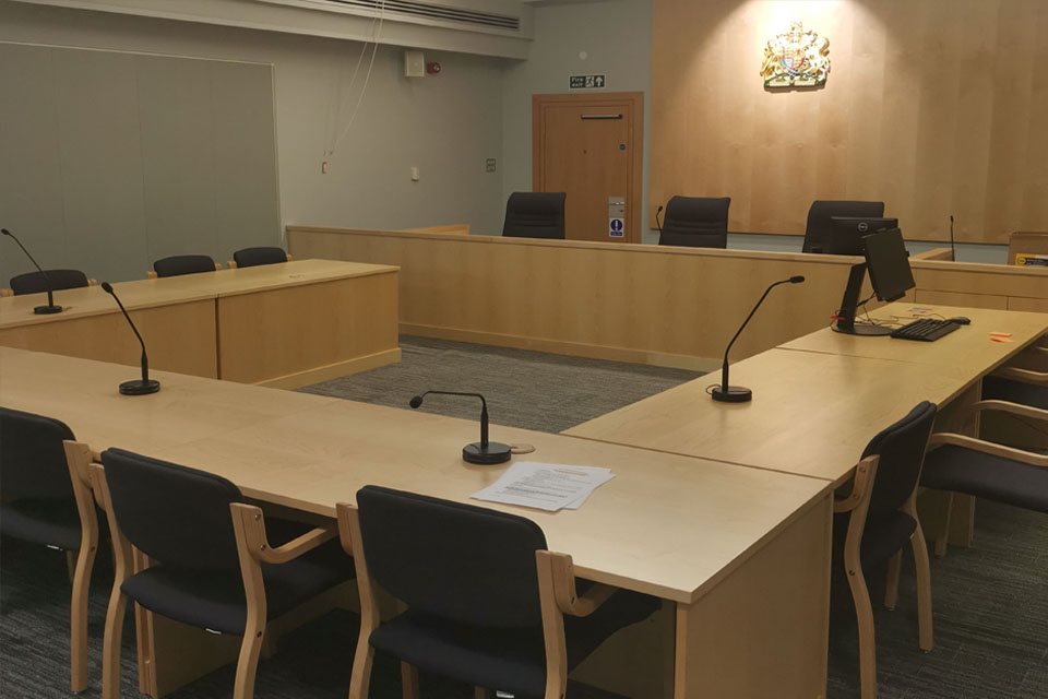 Image of new courtroom