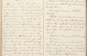 Charles Lyell's notebook