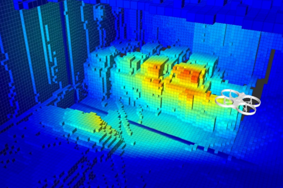 Infrared imaging using Createc software.