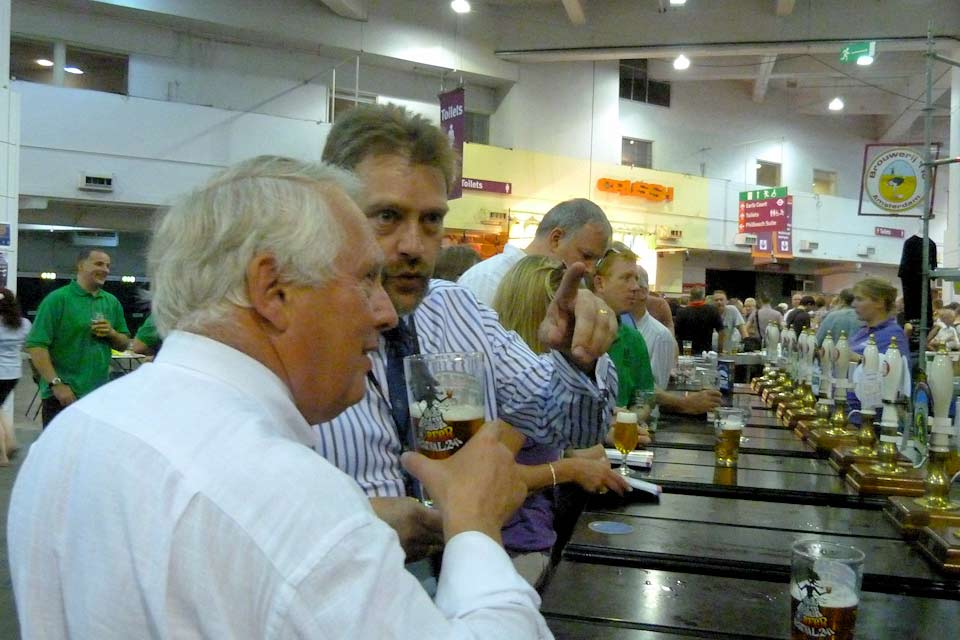 Bob Neill at the Great British Beer Festival