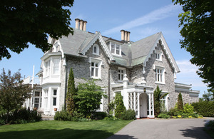 Earnscliffe, The official residence of the British High Commissioner to Canada.