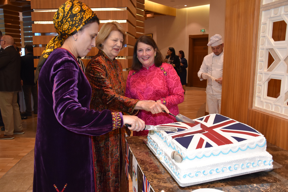 Queen's Birthday celebration in Ashgabat