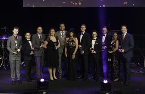 Image of the National Apprenticeship Awards winners 2018.