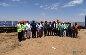 UKaid launch clean energy in Somaliland