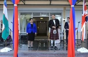 The Queen's 93rd Birthday celebrated in Tashkent.