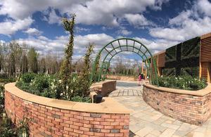 UK Garden at the Beijing Expo