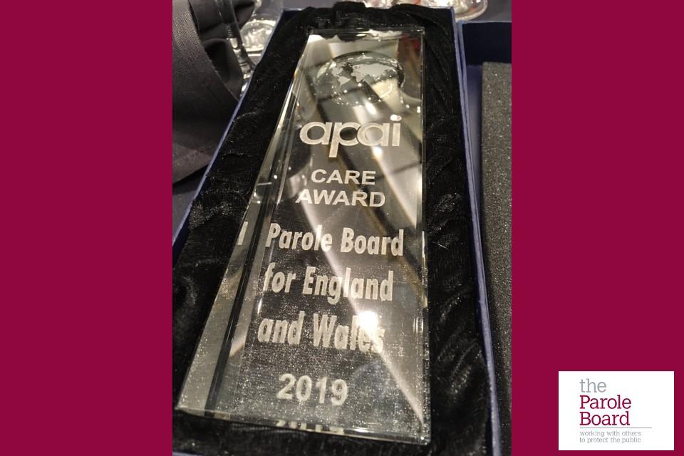 APAI award