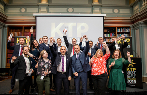 A group photo of the KTP Best of the Best winners.