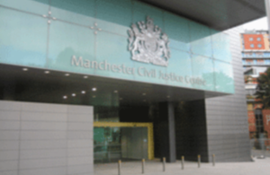 Photo of Manchester Civil Justice Centre building