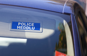 Welsh police sign